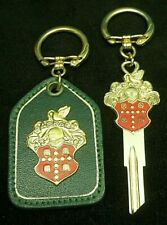 PACKARD CREST KEY Blank & KEY FOB GIFT SET Fits ALL 1927-1956 Vintage NOS Rare