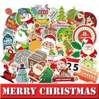 100 Christmas Skateboard Stickers bomb Vinyl Laptop Luggage Decals Sticker Lot