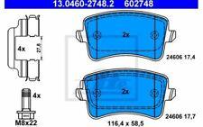 4x ATE Plaquettes de frein Arrière pour AUDI Q5 A4 A5 13.0460-2748.2