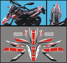 Yamaha WR 125 X  Anniversario 2009 / 14 - adesivi/adhesives/stickers/decal