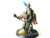 A18 WARHAMMER 40K CHAOS DEATH GUARD ARMY - PAINTED PLAGUE MARINE CONVERSION