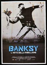 manifesto BANKSY L'ARTE DELLA RIBELLIONE Elio Espana BEN Eine Simon Reynolds M99