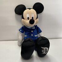 "Disneyland 60th Anniversary Mickey Minnie Mouse Diamond Celebration Plush 15"""