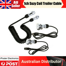 6M 1CH Heavy Duty Trailer Cable Suzy Coil Kit for Truck Caravan Reverse Camera