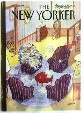The New Yorker Magazine - Octobre 15, 3018 - J. J. Sempé