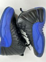 Nike Air Jordan 12 Retro Black Game Royal Big Kid's Size 6 Youth