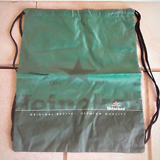 Heineken Beer Drawstring Tote Cinch Sack BackPack Sports Bag Packsac Advertising