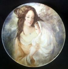 Vintage Limoges Plate 'Marianne et Therese' Guy Cambier #AD969
