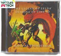The Legend of Zelda Ocarina of Time 3D • Official Soundtrack •Brand New Sealed•