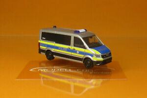 Herpa 096195 MAN TGE Bus FD Polizei Wiesbaden 1:87