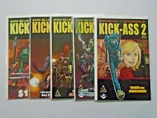 Kick-Ass 2 (II) run #1 to #6 but without #5 NM 5 different books (2010)
