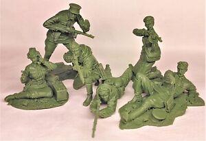 Plastic Platoon Red Army Hunters and prey Stalingrad 1942 1/32