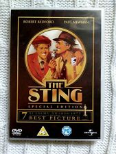 THE STING – SPECIAL EDITION - DVD - R: 2+4+5, LIKE NEW, FREE POST IN AUSTRALIA