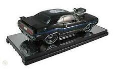 "1970 DODGE CHALLENGER GP DRAG WHEELS ""75th Anniversary"" BLACK 1:18 SCALE BY M2"