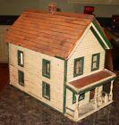 Antique Folk art doll house signed J Kline 1907------15635