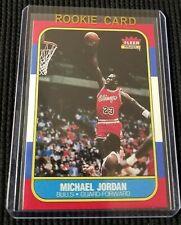 1986 Michael Jordan RC #57 Bulls Nice Novelty Reprint Card