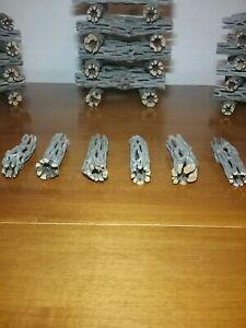 "NEW! 6 Pieces 3"" inch CHOLLA Wood Cactus Organic Untreated Shrimp Fish Reptiles"