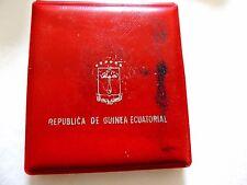 1970 Guinea Ecuatorial Two Hundred (200) Pesetas Guineanas Moneda de Plata