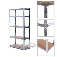 Homcom Storage Rack 180cm 5 Shelf Heavy Duty Garage Shelving Shelves Unit