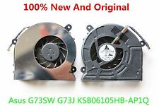 NEW FOR Asus G73 G73S G73SW G73J G73JH G73JW FAN KSB06105HB-AD1P CPU COOLING FAN