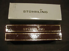 MW.3: STUHRLING WRIST WATCH TRAVEL BOX - EXCELLENT CONDITION