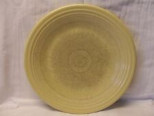 """Contemporary Fiesta Ware Yellow 10 1/2"""" Dinner Plate with flaw"""