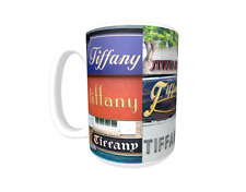 TIFFANY Coffee Mug / Cup featuring the name in actual sign photos