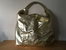 Used - Bag MANGO Bolso - Golden color Dorado - 54 x 44 x 16 cm - Usado