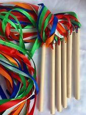 Dancing Ribbon 6 Ribbon 3 Colors Rhythm Gym Ballet Streamer Twirling
