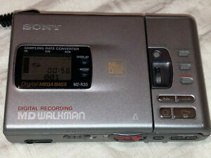 Sony MD Walkman Minidisc Recorder MZ-R30