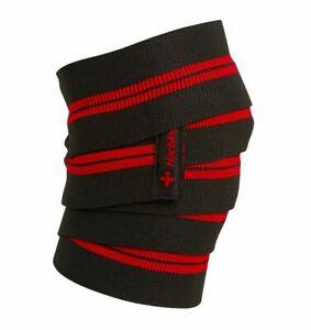 "Harbinger 78"" Red Line Knee Wraps"