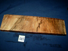 Nussbaum Maser Schmuckholz für Holzschmuck Edelholz  295 x 85 x 18 mm   Nr. 685