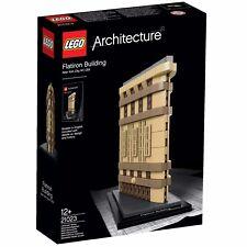 Lego Architecture 21023 Flat Iron Building *Retired Set*  UK Seller-BNIB
