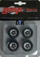 GMP 18896 MAGNUM WHEELS & TIRES SET OF 4 PCS FROM 1970 PLYMOUTH GTX DIECAST 1:18