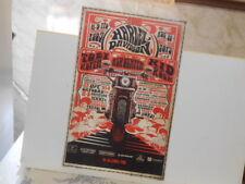 Vtg.2013 110th Anniversary Harley Davidson Toby Keith, Aerosmith, Kid Rock Poste