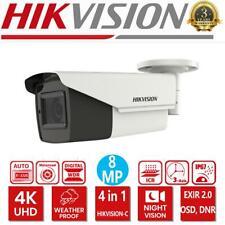 HIKVISION 4K 8MP Bullet Camera Motorized Varifocal OSD EXIR 80M 4in1 Video IP67