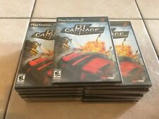 DT Carnage (Sony PlayStation 2, 2008) PS2 NEW