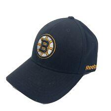 Reebok Boston Bruins Black Hat Baseball Cap One Size Adjustable
