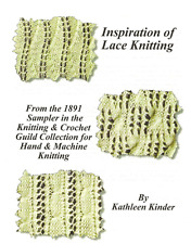 Kathleen Kinders New Book Inspiration of Lace - First Printing in November 2012