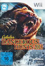 Nintendo Wii Spiel * Cabela´s Dangerous Hunts 2013 * Cabelas Big Game Hunter NEU