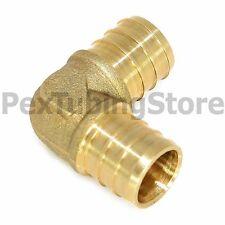 """(25) 1/2"""" PEX Elbows - Brass Crimp Fittings"""