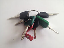 !7 Volvo Keys - Heavy Equipment Key Set with Laser Isolator F Series - NEW!