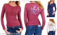 T-shirt Maglia Donna Top 525 Gruppo Einstein A334 Made in Italy Tg S M L