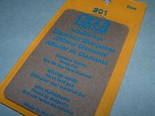 EZE LAP 201 Credit Card Fine Diamond Sharpener Sharpening Wallet Stone 600 Grit