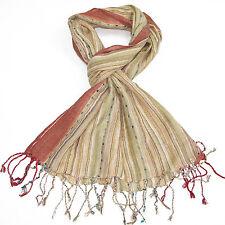 Scarfs For Women-Elegant Ladies Soft Shawl Long MultiColour Neck Wrap By Lovarzi