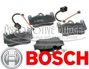 Rear Brake Pads w/Sensors for Audi Q7 Porsche Cayenne & Volkswagen Touareg - NEW