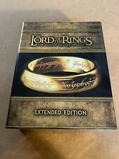 The Lord of the Rings: Extended Edition Trilogy (Blu-ray Disc, 2012 Box Set