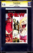 Art of Chew #Nn 2009 Book 1 Cgc 9.8 Ss Layman / Guillory Animated Tv Show Soon