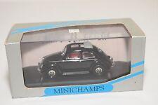 . MINICHAMPS VW VOLKSWAGEN BEETLE KAFER SPLIT WINDOW SUNROOF BLACK MINT BOXED