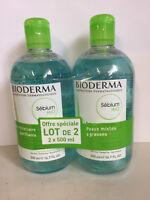Bioderma Crealine H2O Cleansing Solution 500ml (Sensibio anti-redness) Brand New